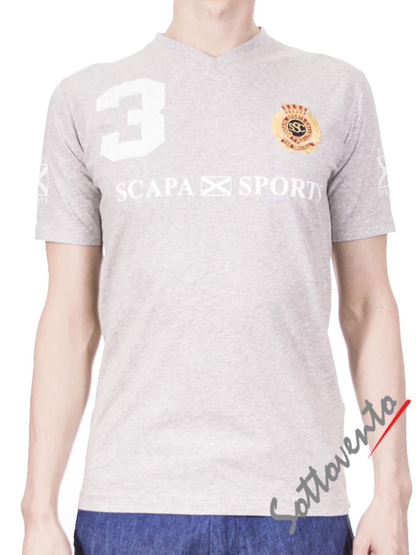 Футболка серая Scapa Sport 3SMYQINC3JERS