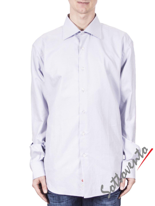 Рубашка светло-серая COMO FIRENZE  Giovanni Rosmini