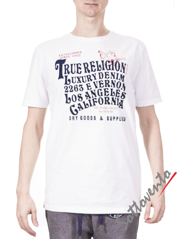 Футболка белая True Religion ABM69A