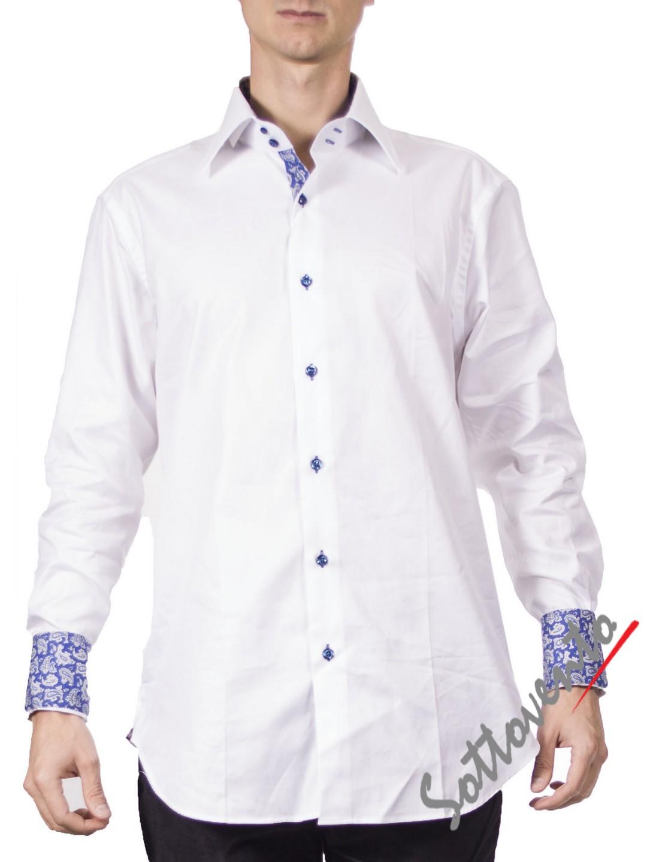 Рубашка  белая Giovanni Rosmini PIAVEW020.