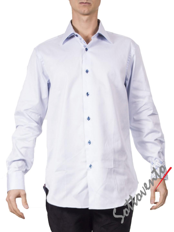 Рубашка белая  Giovanni Rosmini ALASKA327.