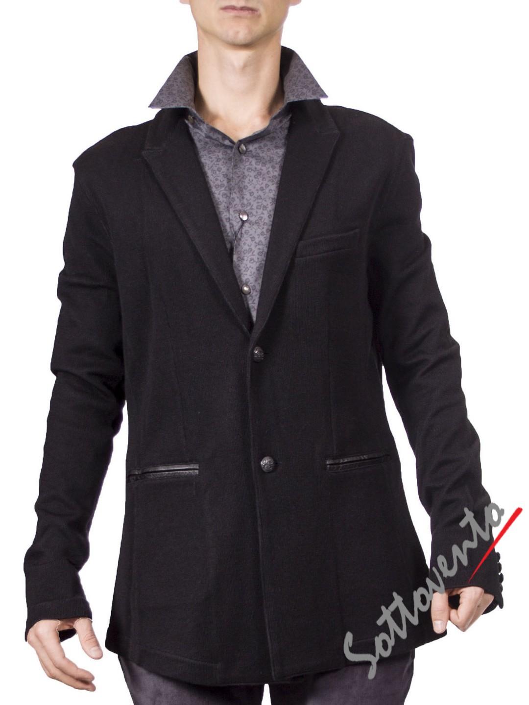 Пиджак  чёрный Varvatos K2037.