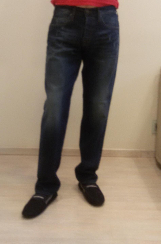 Джинсы синие  True Religion M14D02