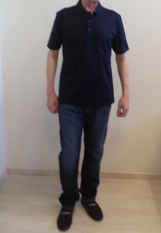 Поло синие Benigni 26191G