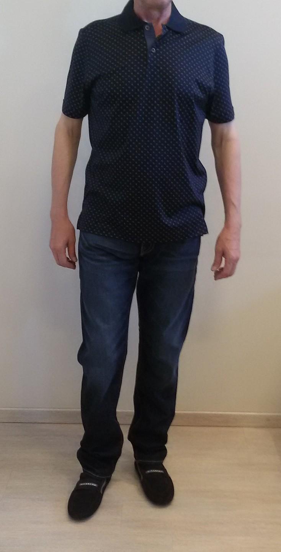 Поло синие Benigni 26237G