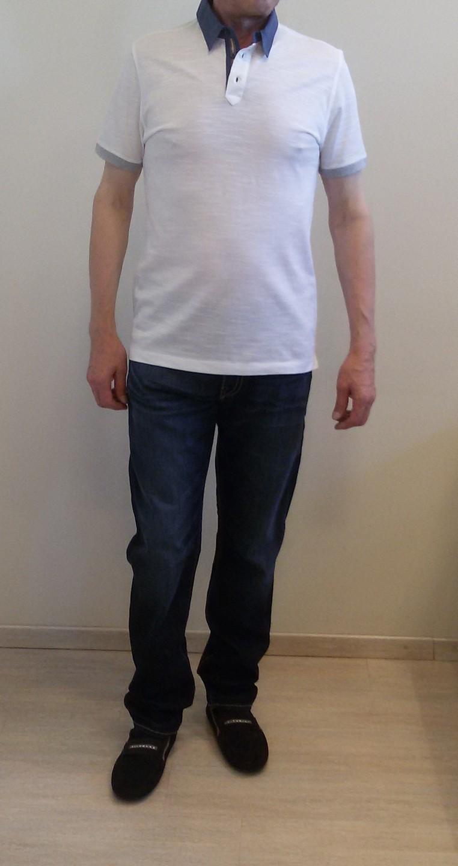 Поло белое Benigni 26438G