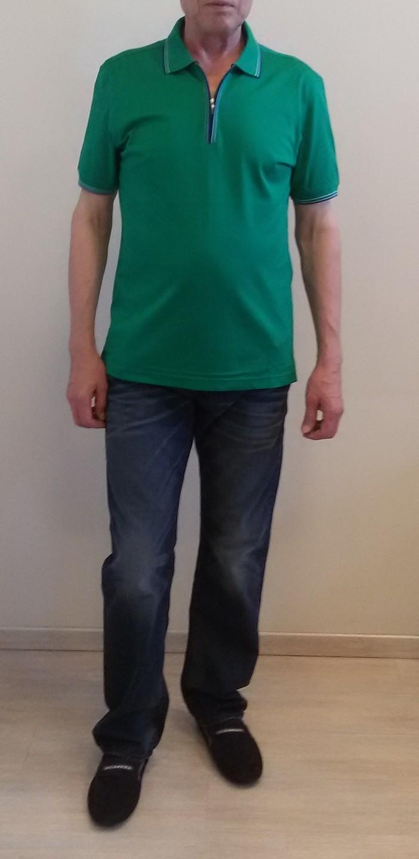 Поло зеленое Benigni 262Z92G