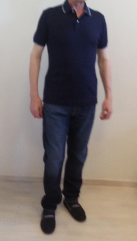 Поло синие Benigni 26536G