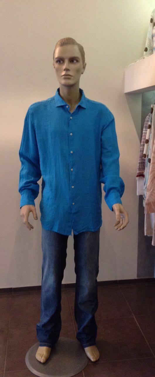 Рубашка бирюзовая MC2 арт.41C3