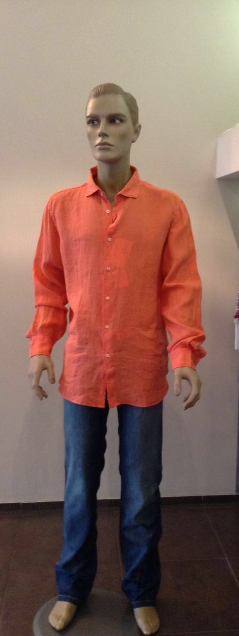 Рубашка красная MC2 арт.41C3