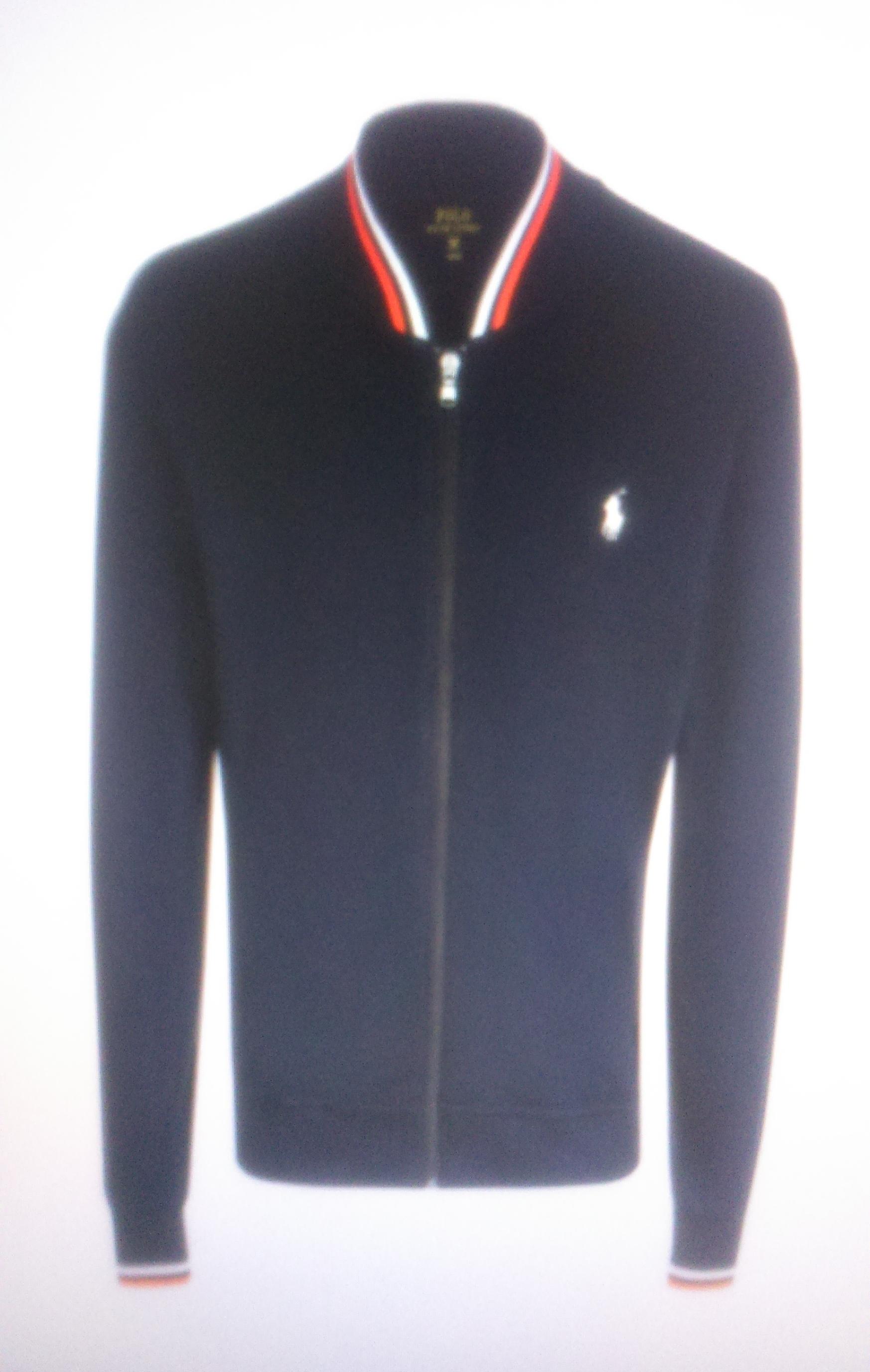 Олимпийка на молнии синяя Ralph Lauren арт.A10XZ7ZZ