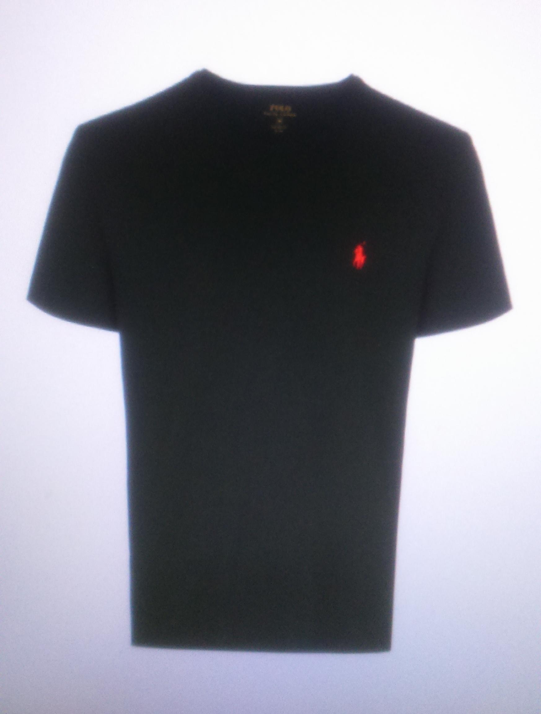 Футболка черная  Ralph Lauren арт.A16KT4OD
