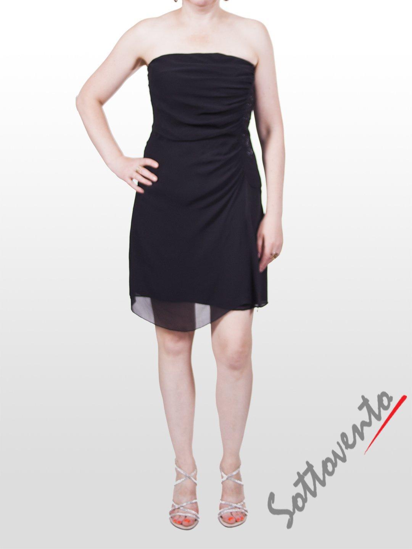 Платье чёрное  Faith 114.