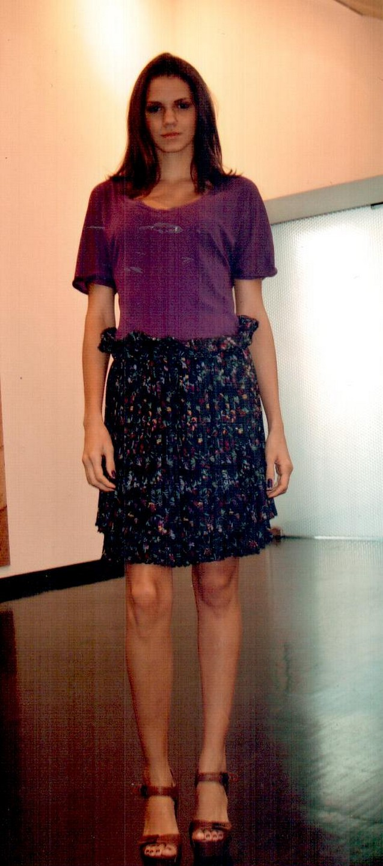 Платье фиолетовое  See by Chloe Т6746.
