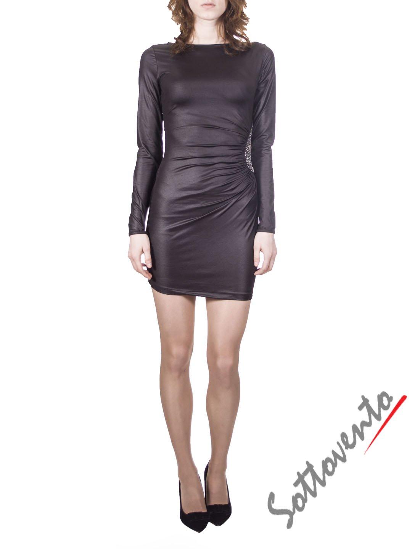 Платье чёрное  Philipp Plein 2001.