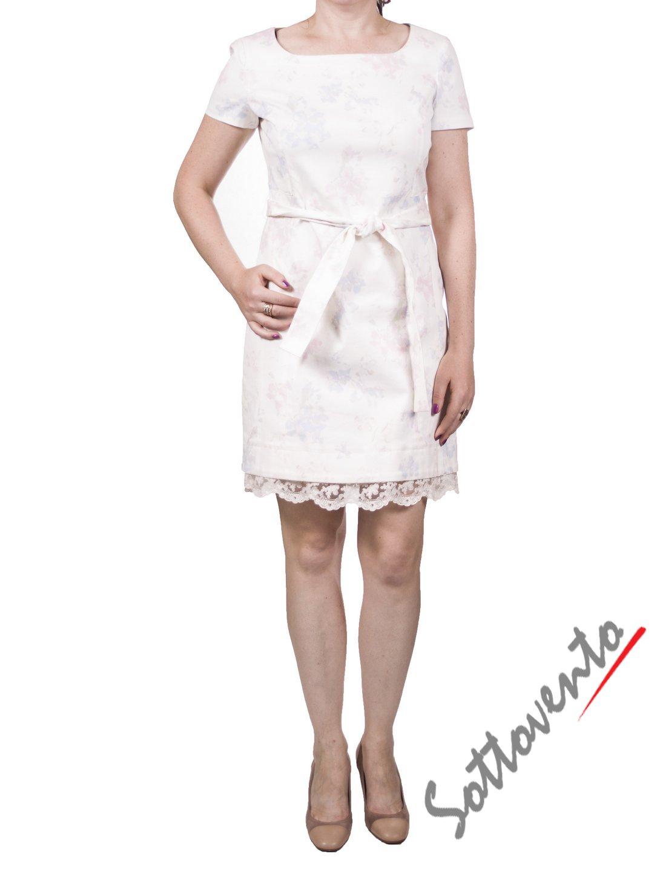 Платье белое Ermanno Scervino Street 133