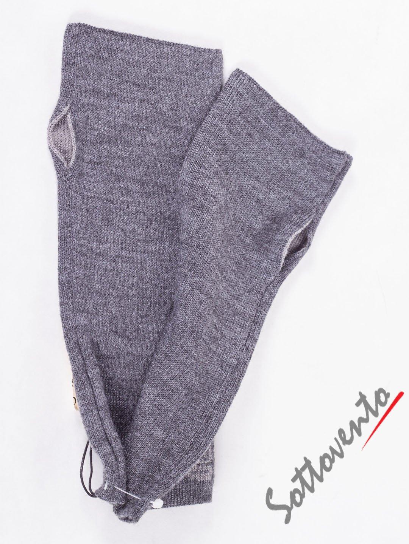 Перчатки серые Galliano  085.