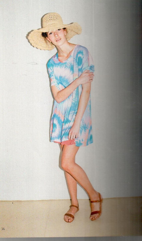 Платье  розово-бирюзовое Matthew Williamson М050.