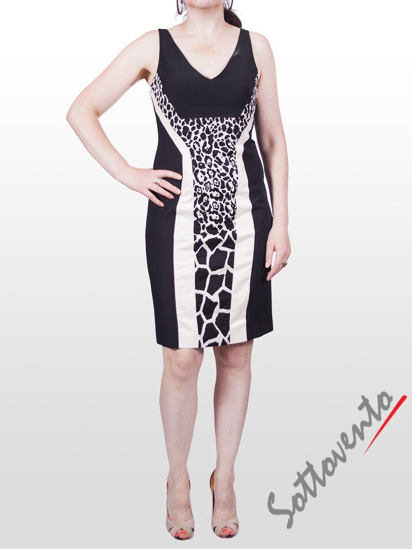 Платье чёрно-белое  I'M Isola Marras 321271.