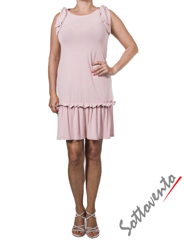 Платье розовое  Valentino Red ANA801.