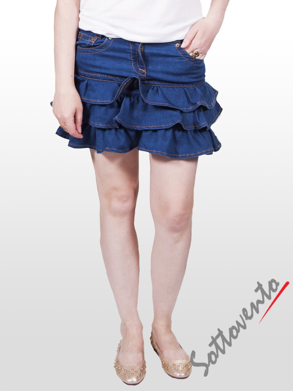 Юбка синяя  Valentino Red AD28AA