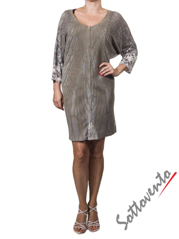 Платье серо-зелёное  Richmond 2201.