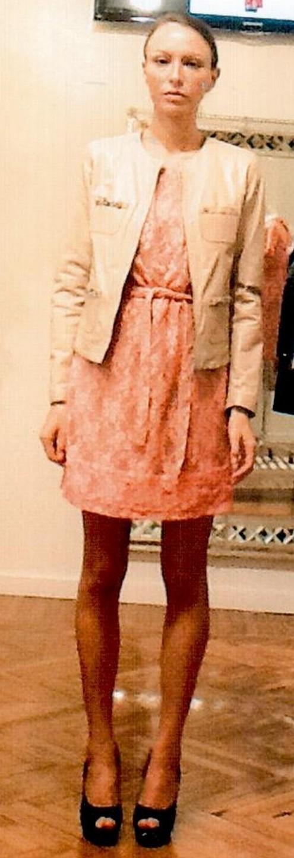 Платье розовое  Blugirl Folies 3905.