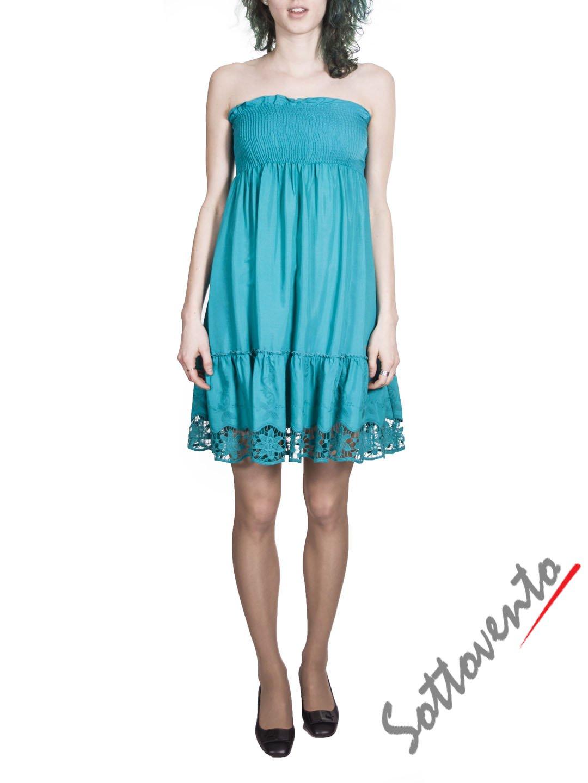Платье бирюзовое  Blugirl Folies 3911.