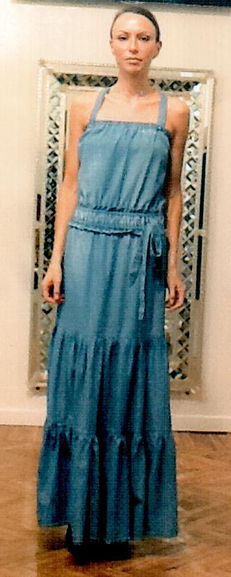 Платье джинсовое  Blugirl Folies 3927.