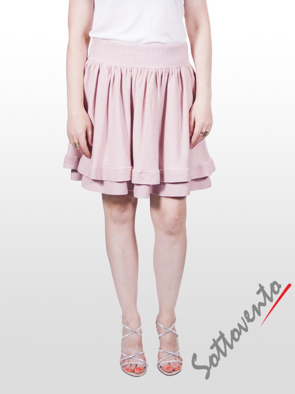 Юбка розовая  Valentino Red 9Е852.