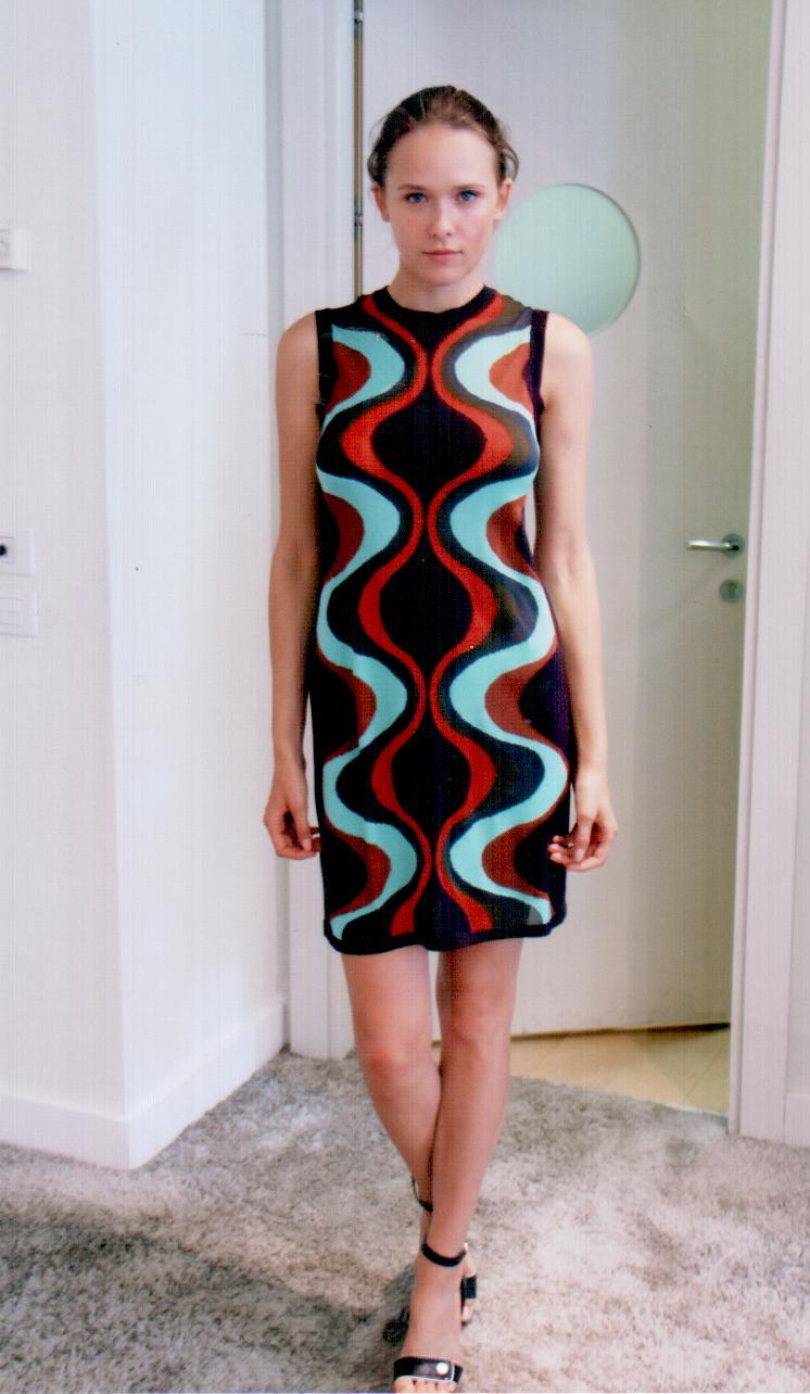 Платье  с цветными разводами  Missoni M CDA9A4TO