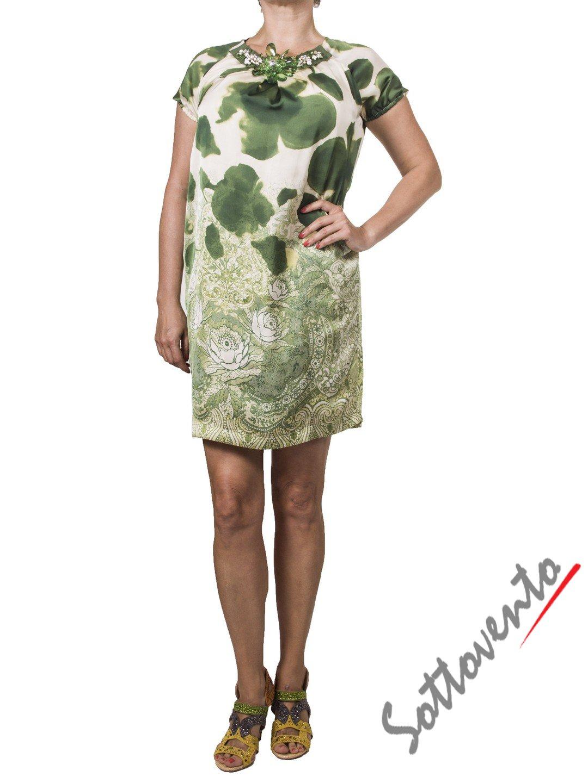 Платье зелёное Ki6? Who are you? АВ51.