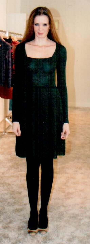 Платье тёмно-зелёное  Missoni M DDA9ACO