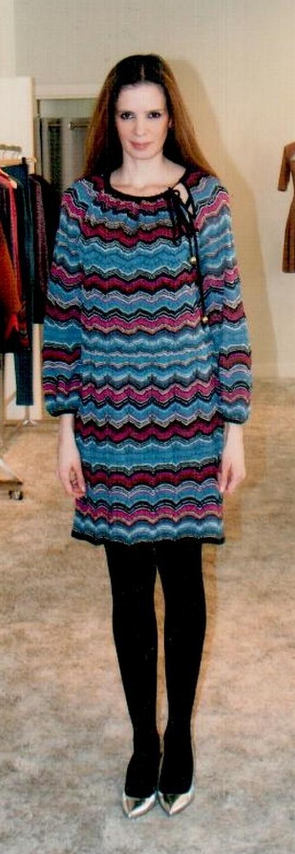 Платье цветное  Missoni M DDA9AOMO