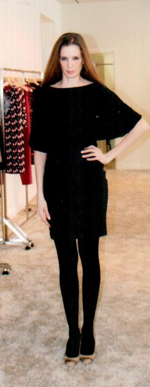Платье чёрное  Missoni M DDANAOC5.