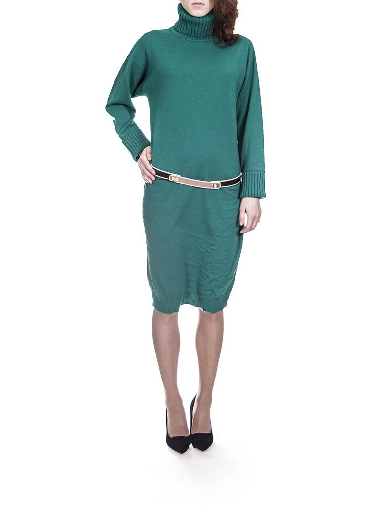 Платье зелёное  Panicale Cashmere 5979.