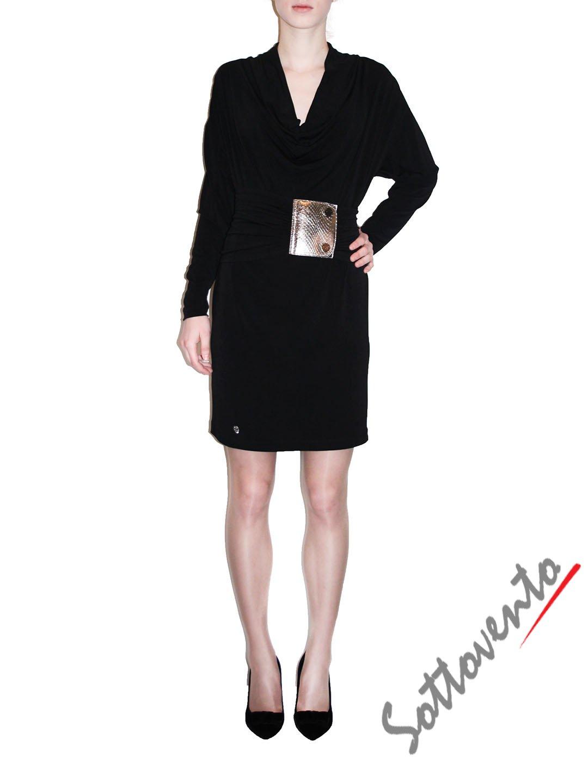 Платье чёрное  Philipp Plein 410013