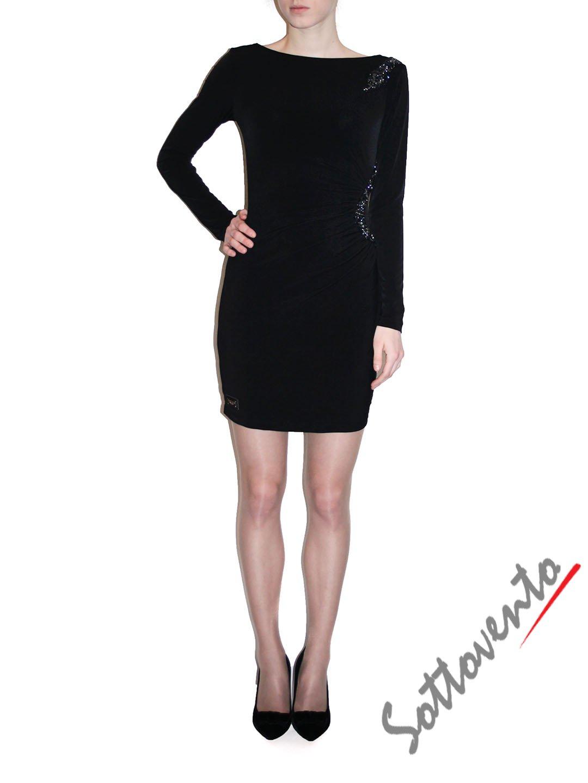 Платье чёрное Philipp Plein 410112