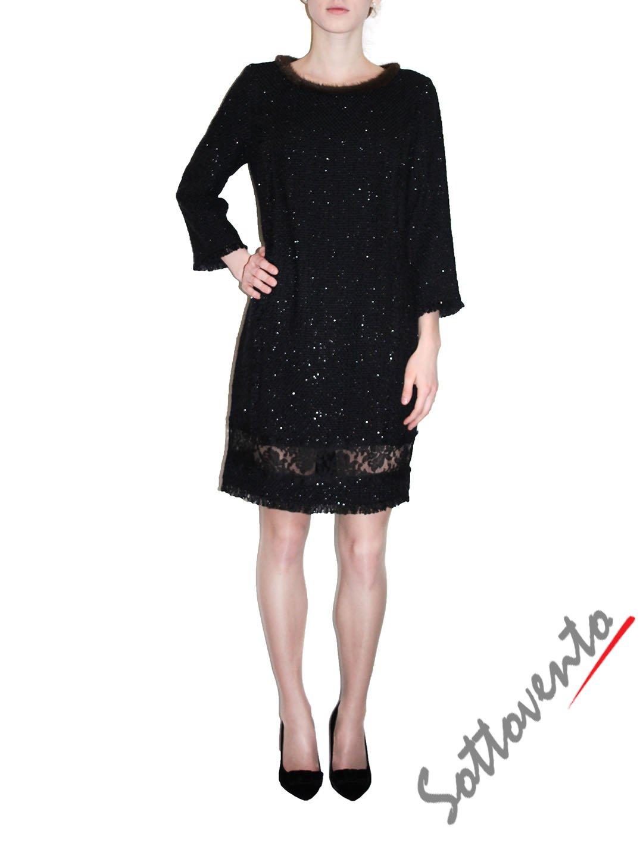 Платье чёрное  Ki6? Who are you? AV82.