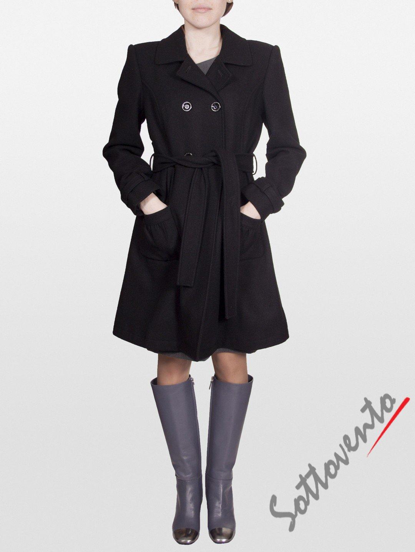 Пальто тёмно-коричневое Blugirl Folies 0609.