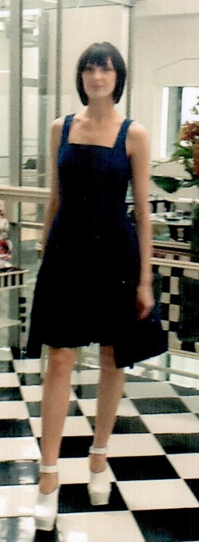 Платье синее I'M Isola Marras 321328.