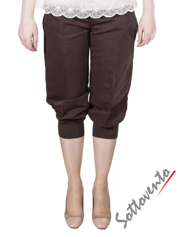 Брюки коричневые  I'M Isola Marras 301273.