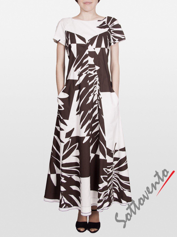 Платье коричневое I'M Isola Marras 321351.