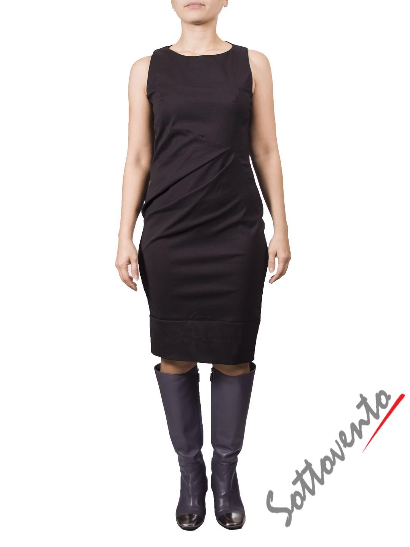 Платье  серое MALLONI 40224.