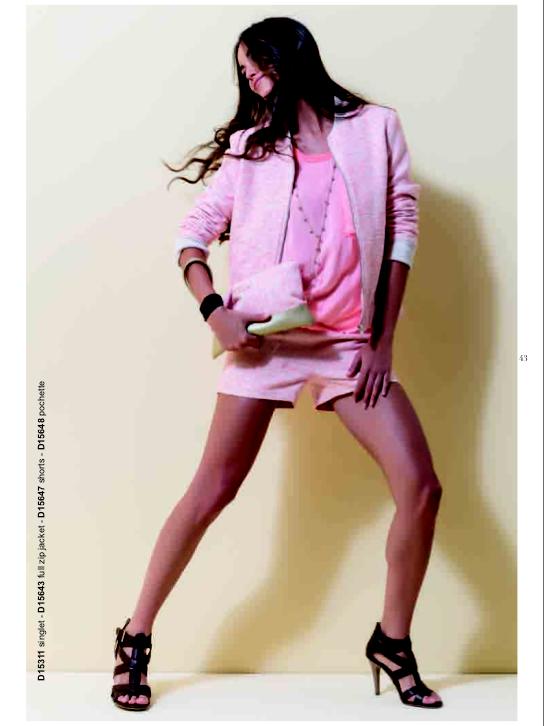 Пиджак розовый Deha