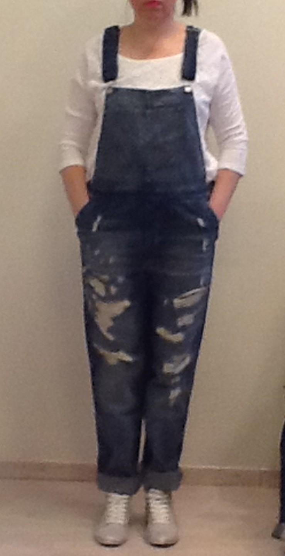 Комбинезон джинсовый т.синий B.Orchid 487TDO