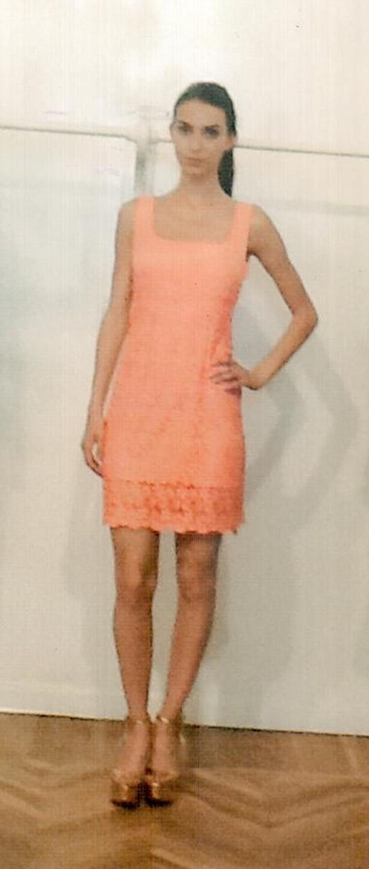 Платье оранжевое KIG6? Who are you? AB42