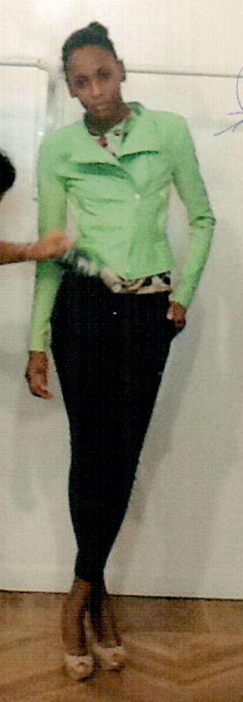 Куртка кожаная зеленая KI6? Who are you? CP25
