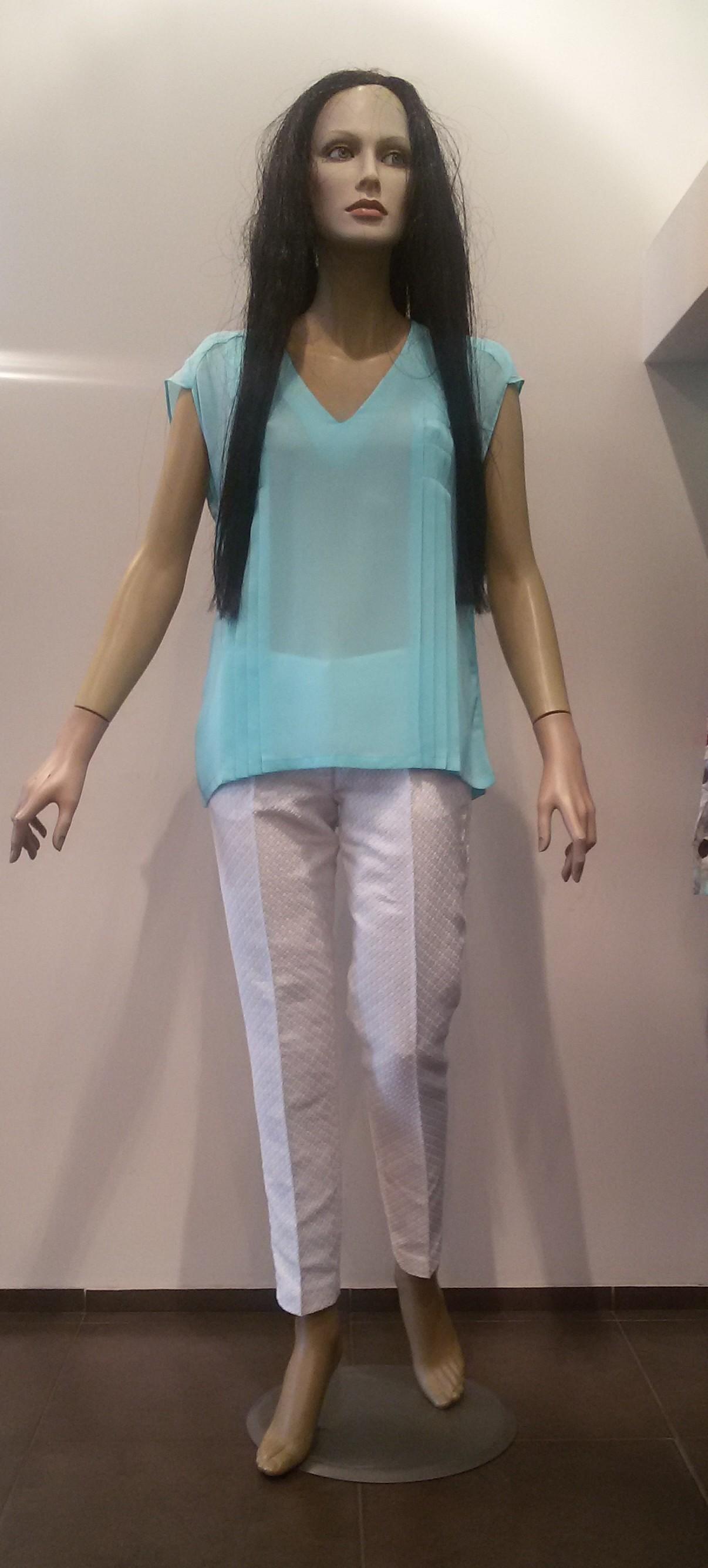 Рубашка голубая KI6? Who are you? СМ11
