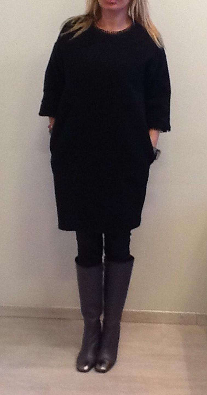 Платье черное ABILETTI 347